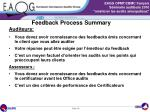 feedback process summary1
