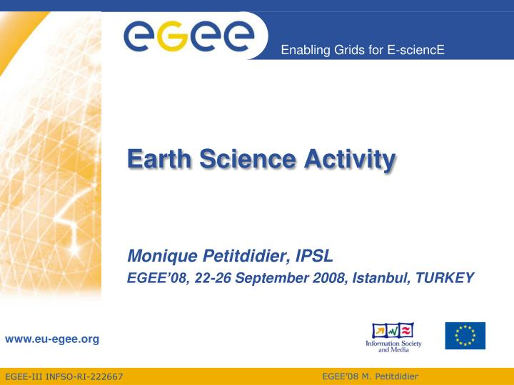earth science activity n.