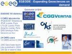 egeode expanding geosciences on demand