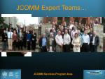 jcomm expert teams