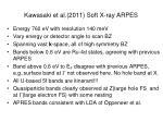 kawasaki et al 2011 soft x ray arpes