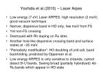 yoshida et al 2010 laser arpes