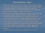 paradoksien aika