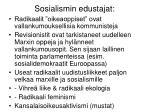 sosialismin edustajat