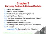 chapter 7 currency options options markets