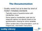 the documentation