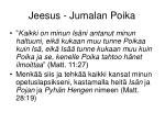 jeesus jumalan poika1