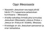 oppi messiaasta1