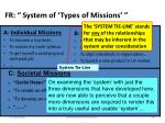fr system of types of missions2