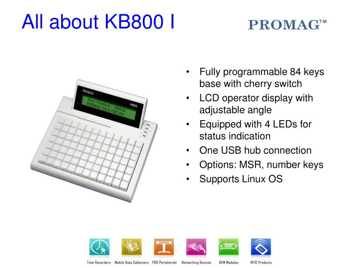 All about kb800 i