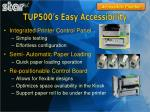 tup500 s easy accessibility1