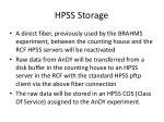hpss storage