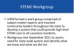 stemi workgroup