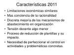 caracter sticas 2011