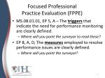 focused professional practice evaluation fppe