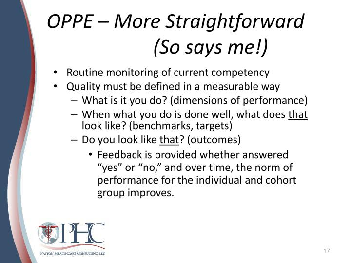 ppt how to avoid being cited for fppe and oppe processes during