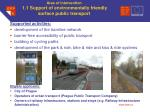 area of intervention 1 1 support of environmentally friendly surface public transport