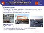area of intervention 2 2 economical and sustainable use of energies and natural resources