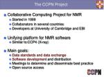 the ccpn project1
