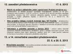 12 zased n p edstavenstva 17 6 2013