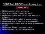 central backs skills required1