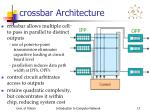 crossbar architecture