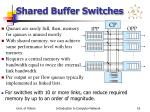 shared buffer switches