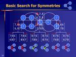 basic search for symmetries