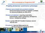 eko innowacje w programie eip