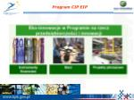 program cip eip1