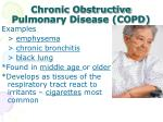 chronic obstructive pulmonary disease copd