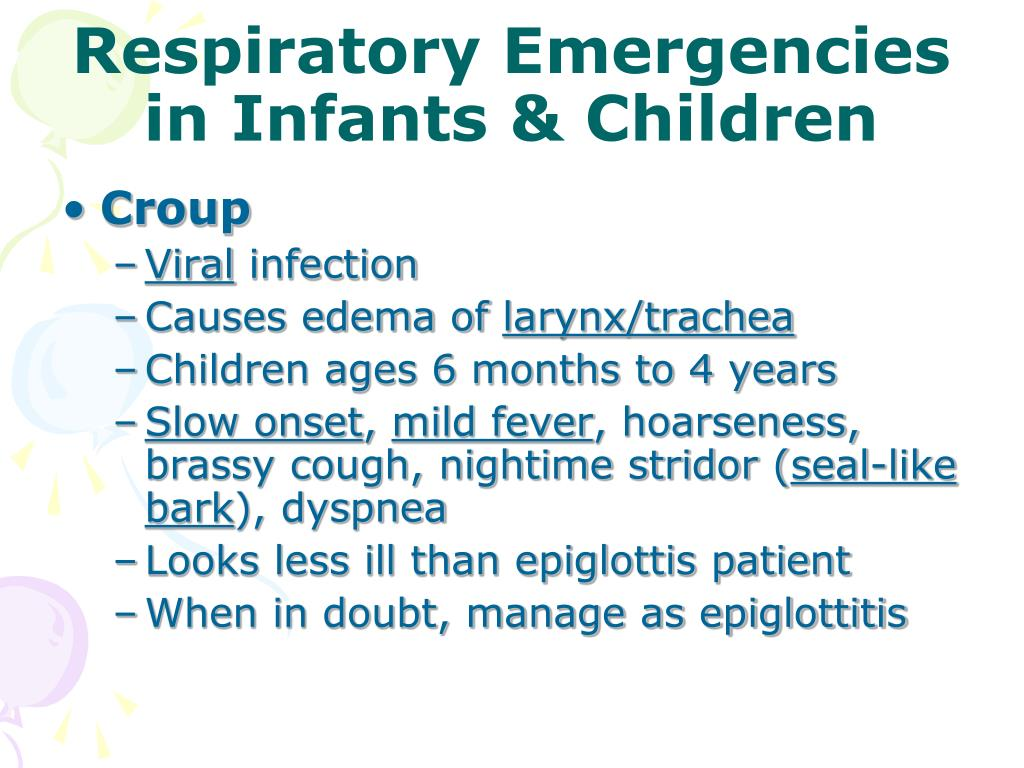 Ppt Respiratory Emergencies Powerpoint Presentation Id