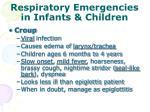 respiratory emergencies in infants children1