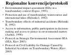 regionalne konvencije protokoli