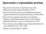 sporazumi o regionalnim morima