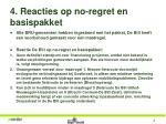 4 reacties op no regret en basispakket