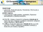 c l evropsk zemn spolupr ce opps r polsko