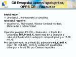 c l evropsk zemn spolupr ce opps r rakousko