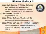 shader history ii