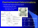 electrochemical debrominations