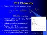 pet chemistry