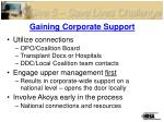 gaining corporate support1