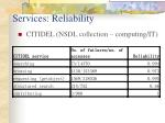 services reliability1