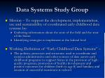 data systems study group