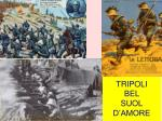 tripoli bel suol d amore