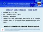 indirect beneficiaries local isps