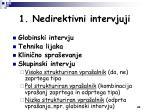 1 nedirektivni intervjuji