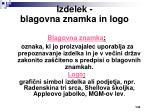 izdelek blagovna znamka in logo