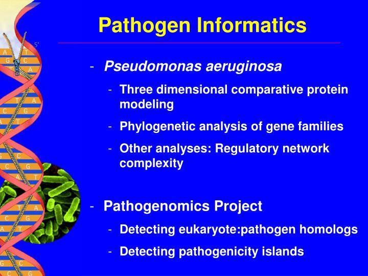 Pathogen Informatics