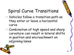spiral curve transitions1